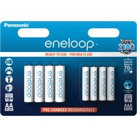 HR6 1900mAh + HR03 750mAh 8BP PANASONIC