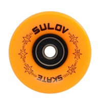 Kolečka Penny board MAT ORANGE 60 x 45mm 85A, sada 4ks, s ložisky, SULOV