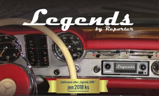 Autorádio LEGENDS - limited edition