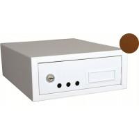 Duplex - poštovní schránka, hnědá WETRA-XT, Vision France PS08-4