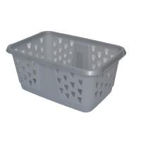 Koš na prádlo Laundry Basket - platinum, 42,5L KIS 006701PT