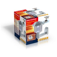 Solární LED osvětlení na zeď 12,5cm OUTDOOR 8711252459578