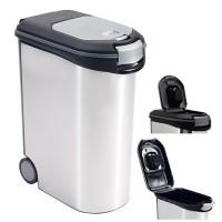 Kontejner na krmivo stříbrný 20kg CURVER 214477