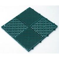 Dlaždice Rombo zelená 385x385x18 mm ARTPLAST ARTP39V