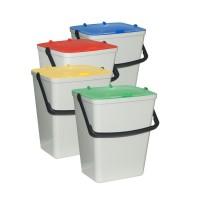 Odpadkové koše na tříděný odpad - sada 4 x 15 l ARTPLAST ARTRS-4