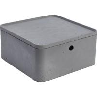 Úložný box beton L s víkem CURVER 243401