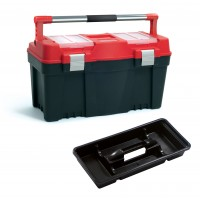 Kufr na nářadí PRACTIC 25 červený PROSPERPLAST PPN25APFI