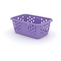 Koš na prádlo Laundry Basket - lila, 42,5L KIS 006701LT