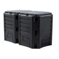 Kompostér MODULE COMPOGREEN černý 800l PROSPERPLAST PPIKLM800C-S411