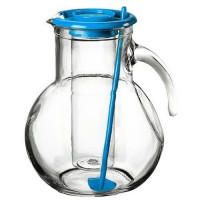 Džbán s chladící vložkou Kufra 2,1 l barva světle modrá FLORENTYNA 3D6623