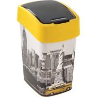 Odpadkový koš FLIP BIN 25l New York CURVER 209996