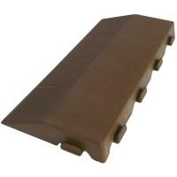 Koncovka Combi M/K v plastu se zásuvkou L205xP400xH48 mm hnědá ARTPLAST ARTPSM-M