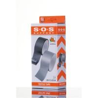 Lepící pásky textilní 2ks 10m 48mm SOS ALL RIDE 8711252090269