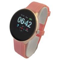Chytré hodinky dámské V17 + navíc černý gumový pásek Smart Life RS0283