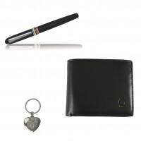 Sada č.6 pánská (Peněženka,klíčenka,pero) RS8005