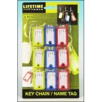 Štítky na klíče 9ks LIFETIME TOOLS 8711252409849