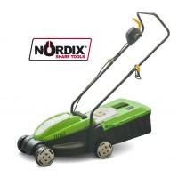 Elektrická sekačka na trávu 1000W, 32cm bez pojezdu Gardenius GE1R100-32