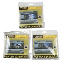 Clona sluneční na sklo 2ks LIFETIME CARS 8718489001082