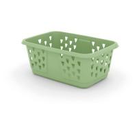 Koš na prádlo Laundry Basket - zelená hemlock, 43l KIS 006701VH