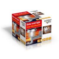Solární LED lampa na zeď OUTDOOR LIGHTS 8711252460536