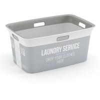 Koš na prádlo Chic Basket Home service, 45L KIS 67090002002