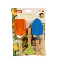 Nářadí zahradní pro dětí 3ks LIFETIME GARDEN 8711252189062