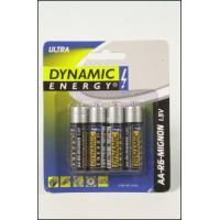 Baterie R6 AA ultra 4ks DYNAMIC ENERGY 12858