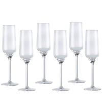 Sklenice na šampaňské 22 cl - 6 kusů 8711252864280
