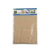 Brusný papír 30ks KINZO 8711252796598